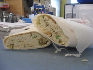 Curry Chicken Wrap