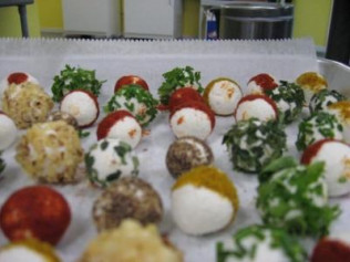 Herb Spiced Goat Cheese Balls
